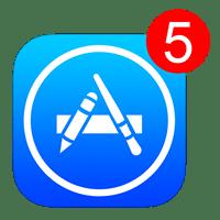 アプリのアップデート通知