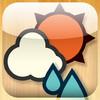 iPhone向けアプリ『おてがる天気』の紹介