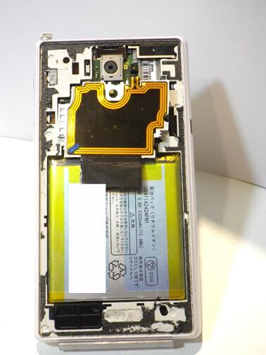 SH-04F 分解画像