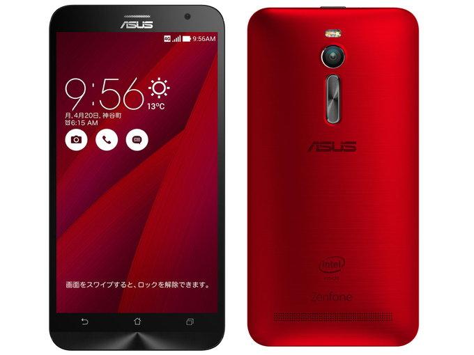 SIMフリー ASUS ZenFone2 ZE551ML