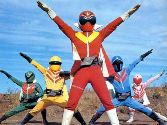 5人そろって5レンジャー!