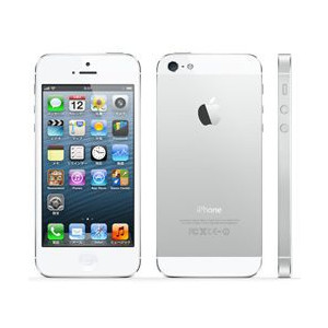 au Apple iPhone5 color White