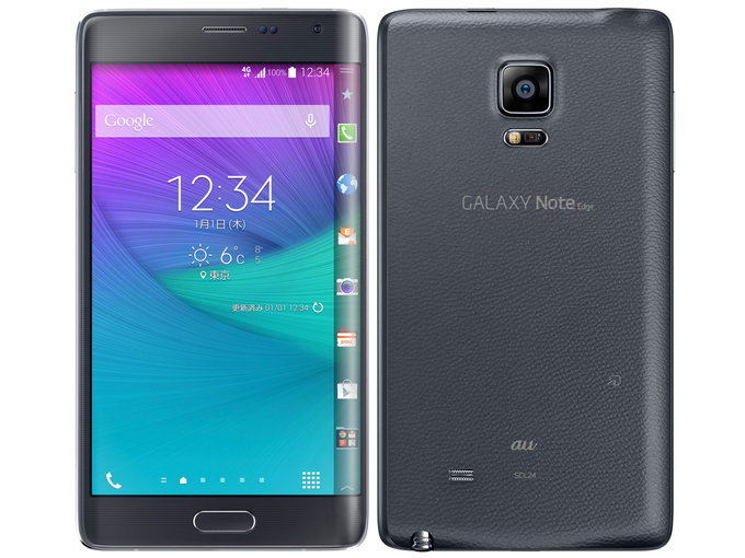 au SAMSUNG GALAXY Note Edge SCL24