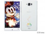 docomo シャープ<br/>Disney Mobile on docomo