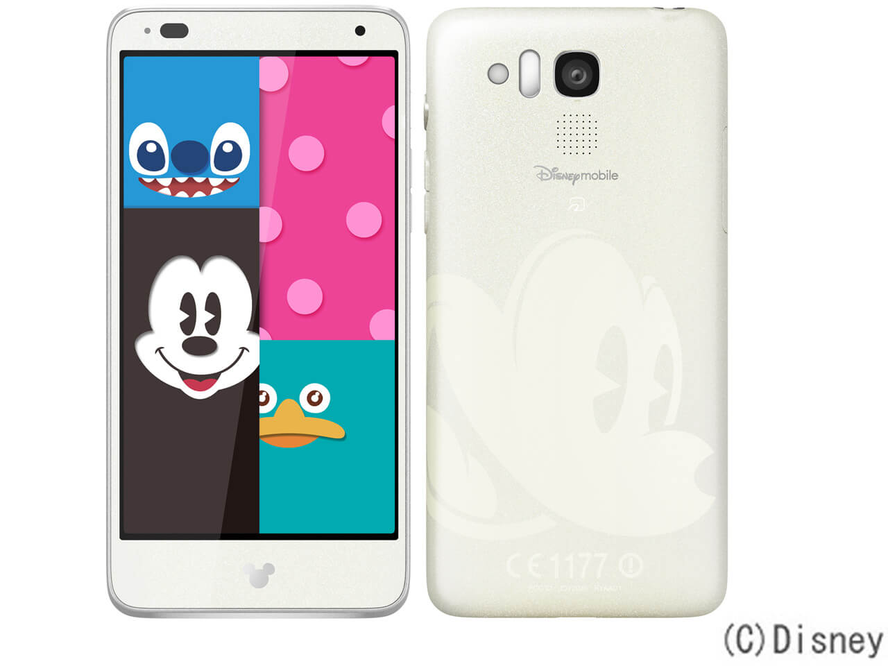 Disney Mobile Kyocera Disney Mobile on SoftBank DM015K