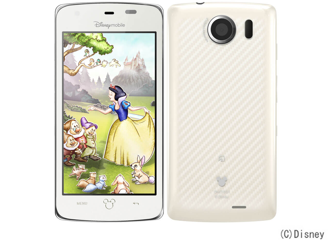 Disney Mobile SHARP Disney Mobile on SoftBank DM010SH