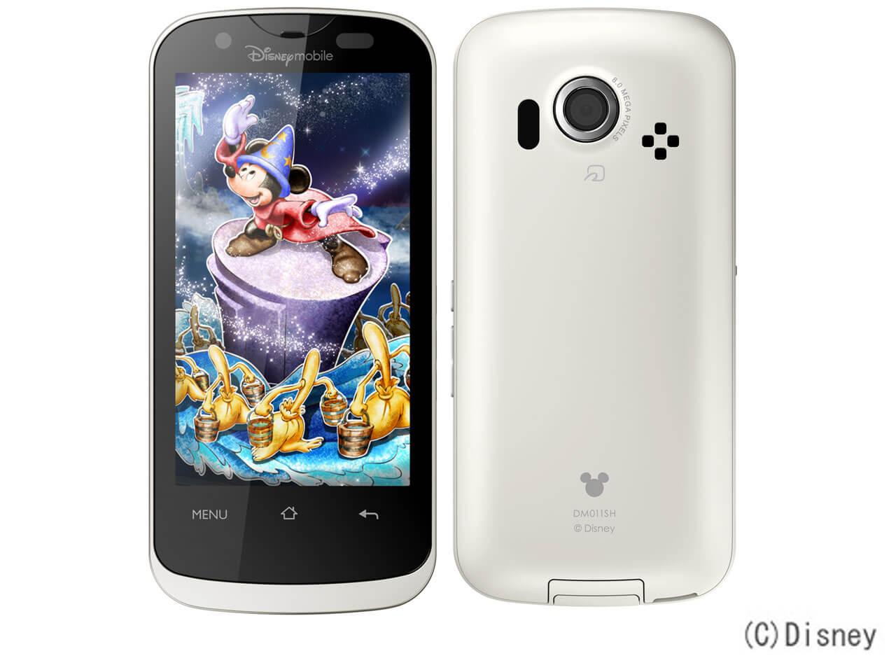 Disney Mobile SHARP Disney Mobile on SoftBank DM011SH
