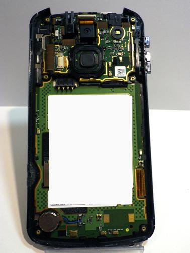 F-10D 分解画像