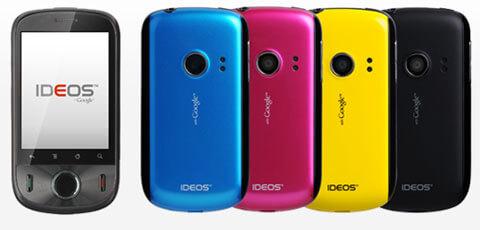 日本通信 Huawei IDEOS BM-IDEOS-200D