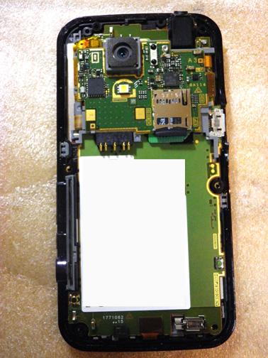 SH-03C 分解画像