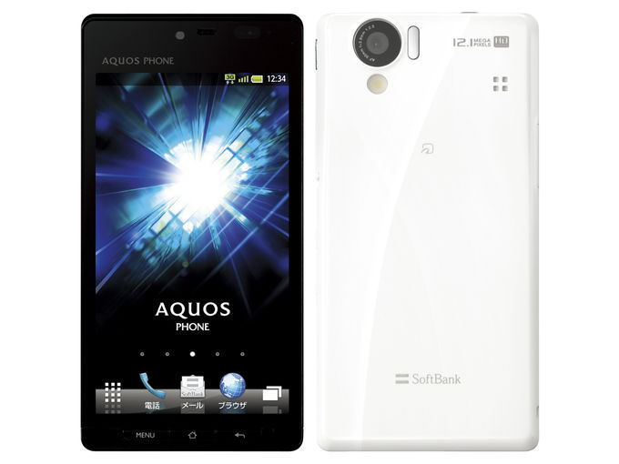 SoftBank SHARP AQUOS PHONE 102SH