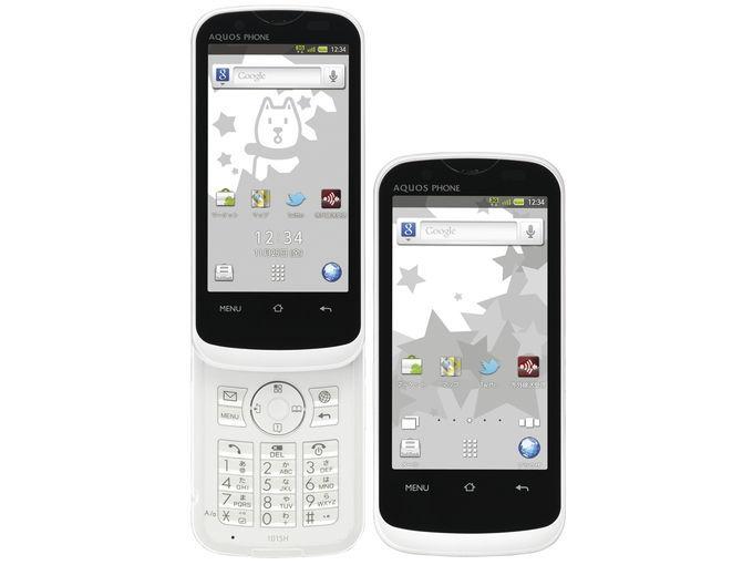 SoftBank SHARP AQUOS PHONE THE HYBRID 101SH