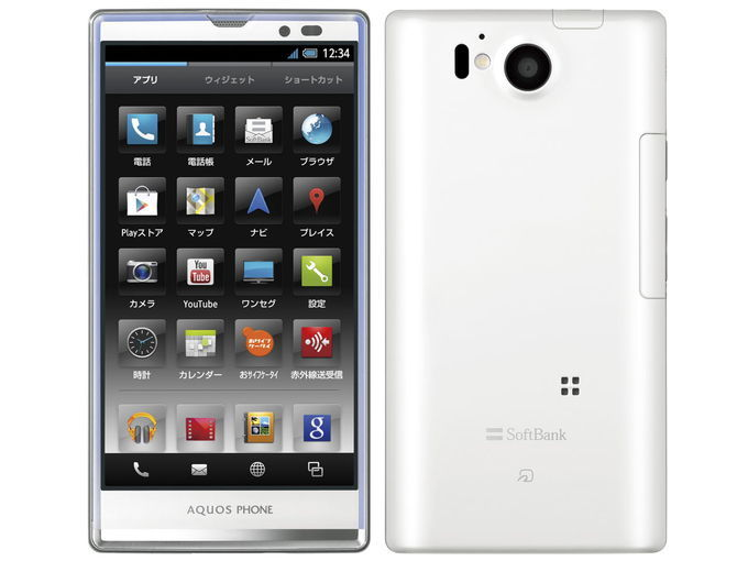 SoftBank SHARP AQUOS PHONE Xx 106SH