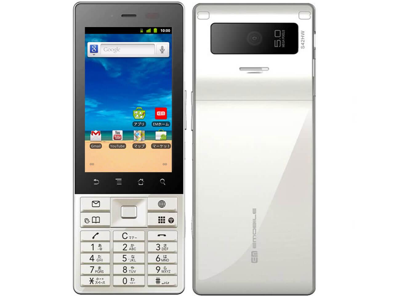 YMOBILE Huawei S42HW
