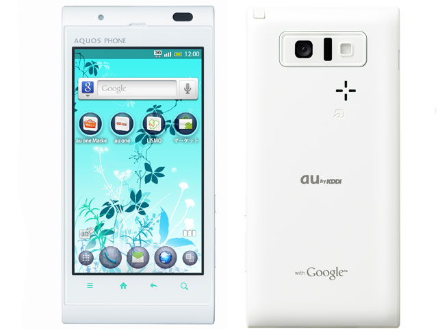 au SHARP AQUOS PHONE IS11SH