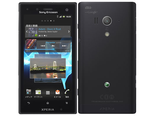 au SONY XPERIA acro HD IS12S