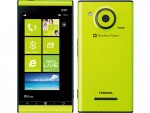 au 東芝<br/>Windows Phone