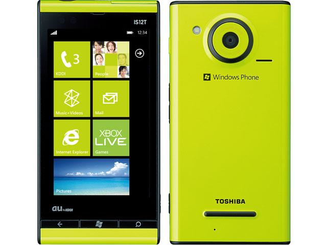au TOSHIBA Windows Phone IS12T