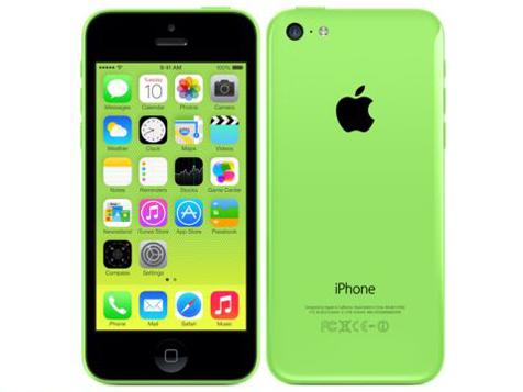 docomo Apple iPhone 5c color Green