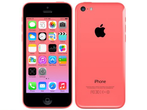 Apple iPhone 5c color Pink