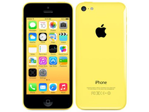 docomo Apple iPhone 5c color Yellow