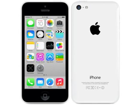 docomo Apple iPhone 5c color white