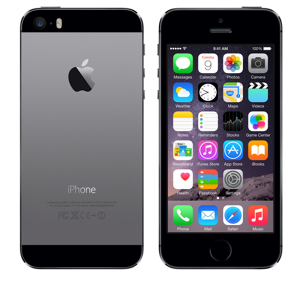 docomo Apple iPhone 5s color Spacegray