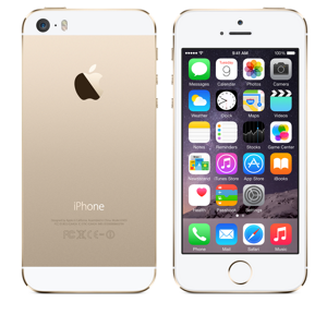 docomo Apple iPhone 5s color Gold