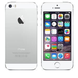 docomo Apple iPhone 5s color Silver
