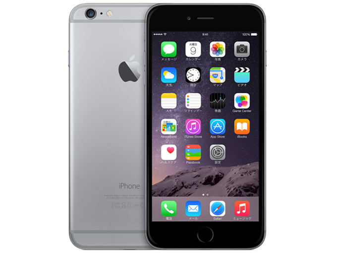 docomo Apple iPhone 6 Plus color Spacegray