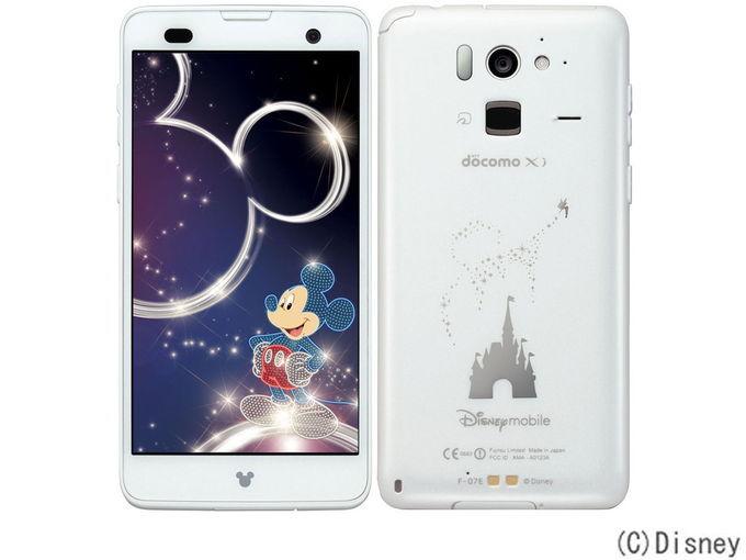 docomo FUJITSU Disney Mobile on docomo F-07E