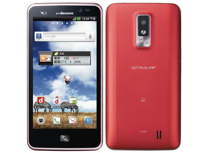 docomo LG Optimus LTE L-01D