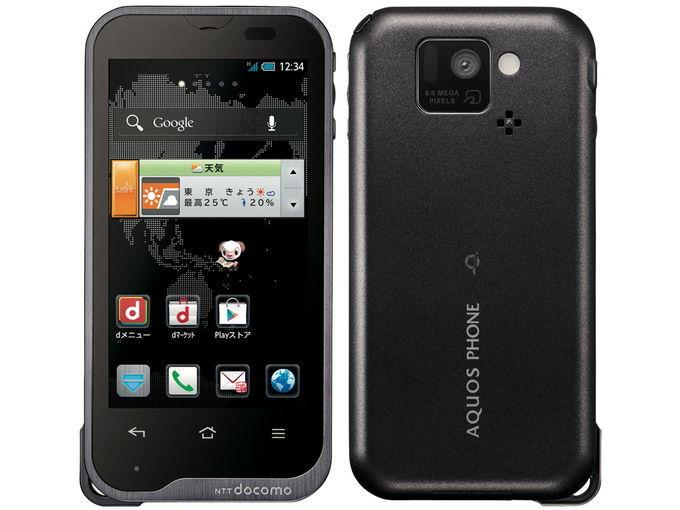 docomo SHARP AQUOS PHONE st SH-07D