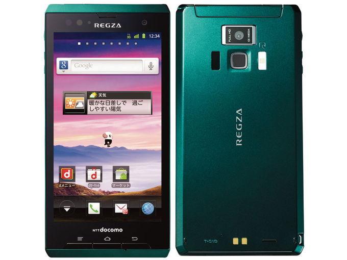 docomo TOSHIBA REGZA Phone T-01D