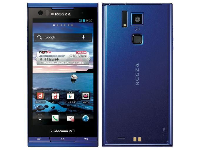 docomo TOSHIBA REGZA Phone T-02D
