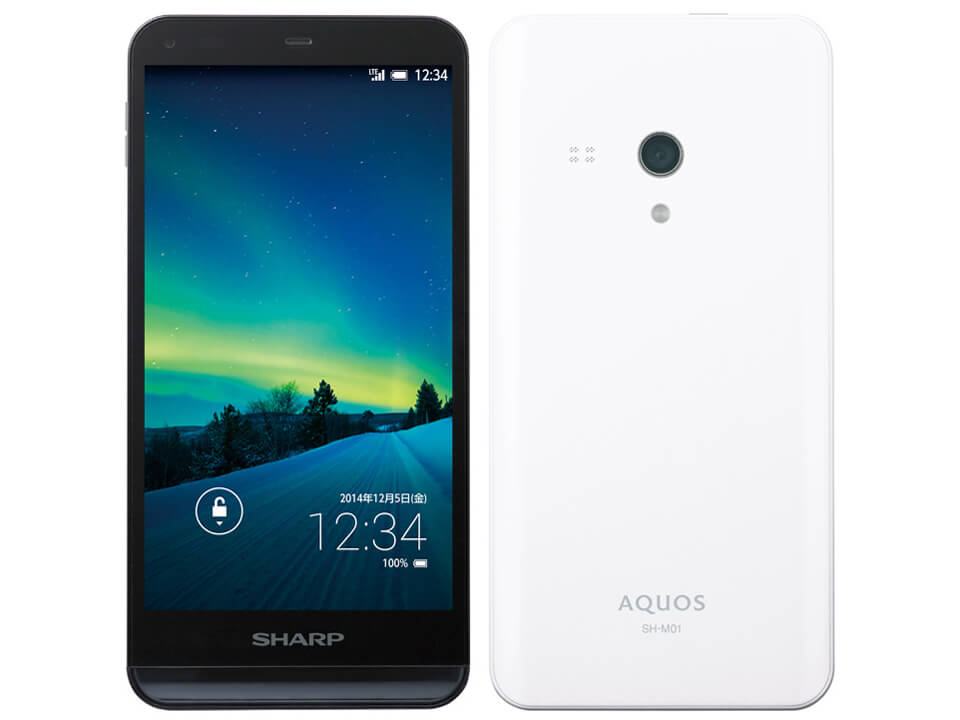 SHARP AQUOS SH-M01