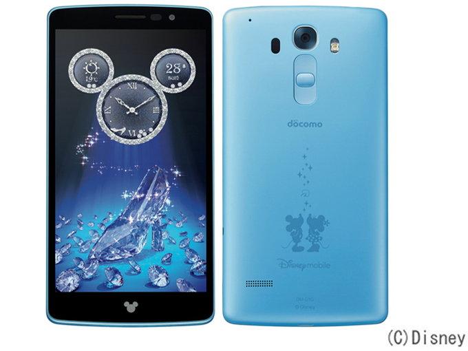 docomo LG Disney Mobile on docomo DM-01G