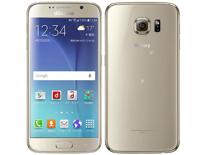 docomo SAMSUNG Galaxy S6 SC-05G