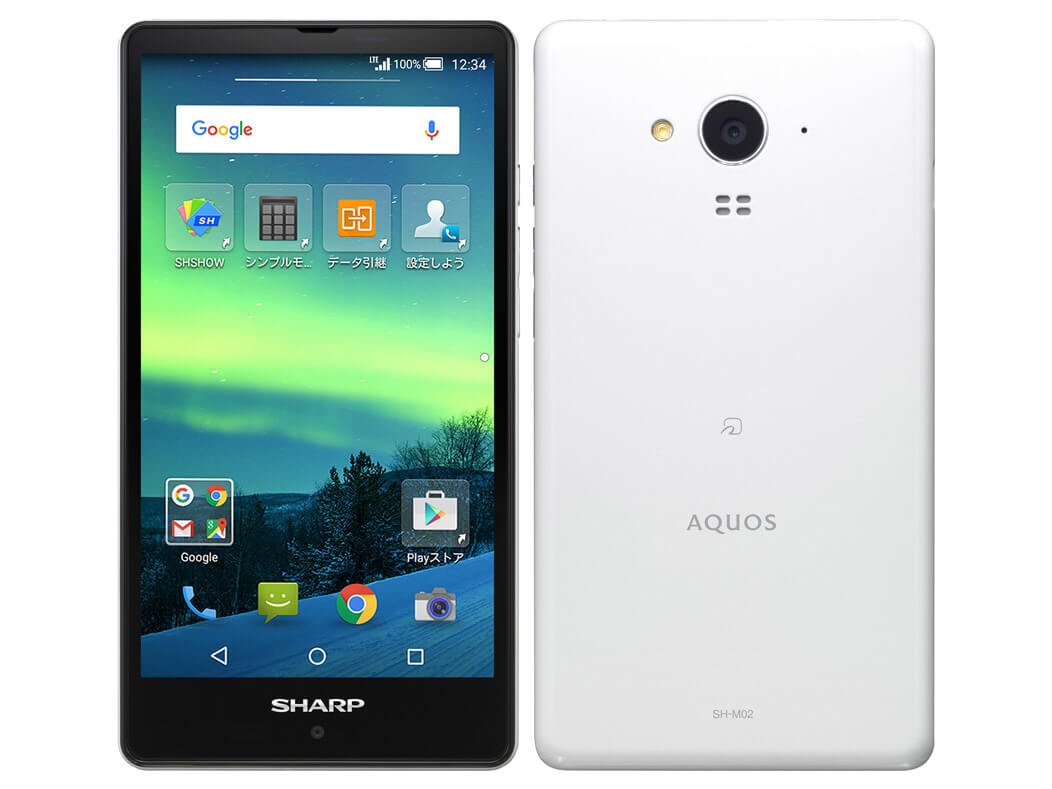 SHARP AQUOS SH-M02