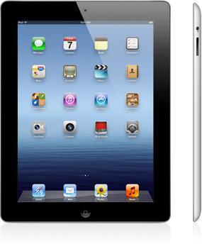 iPad 3 Wi-Fiモデル/Wi-Fi + 4Gモデル