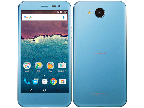 Y!mobile SHARP Android One 507SHカラースモーキーブルー
