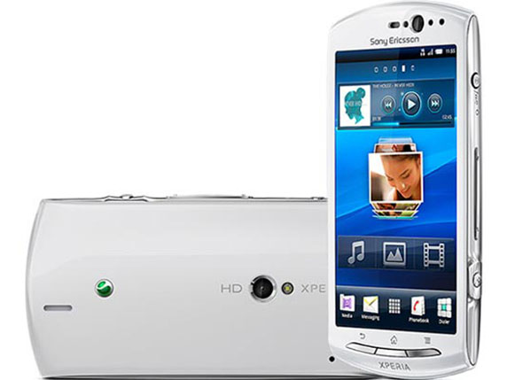 SIMフリー SONY Xperia neo V MT11aの写真