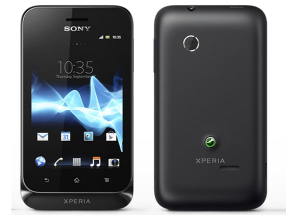 SIMフリー SONY/ソニー Xperia tipo(型番:ST21i) 写真