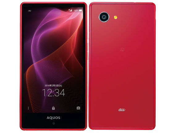 au SHARP AQUOS SERIE mini SHV33
