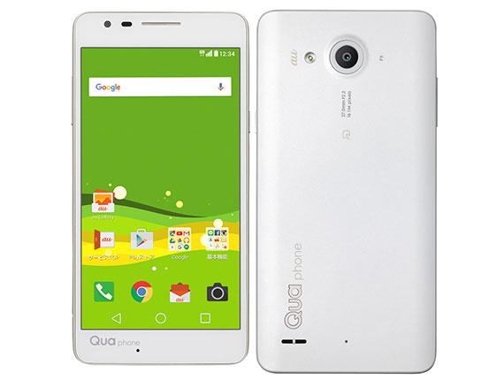 au LGエレクトロニクス Qua phone PX LGV33