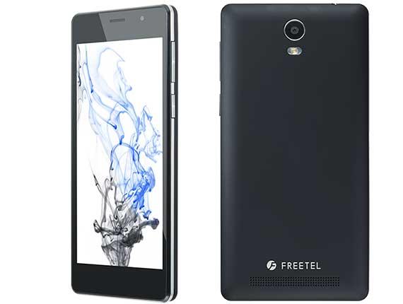SIMフリー freetel/フリーテル Priori3S LTE FTJ152B-Priori3S ブラック