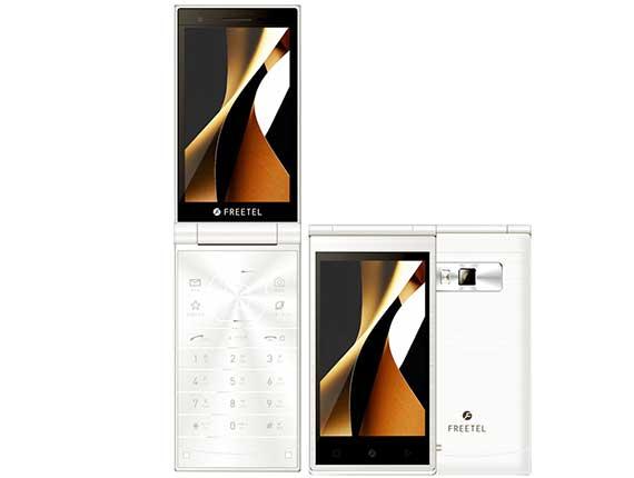 SIMフリー freetel/フリーテル MUSASHI FTJ161A ホワイト