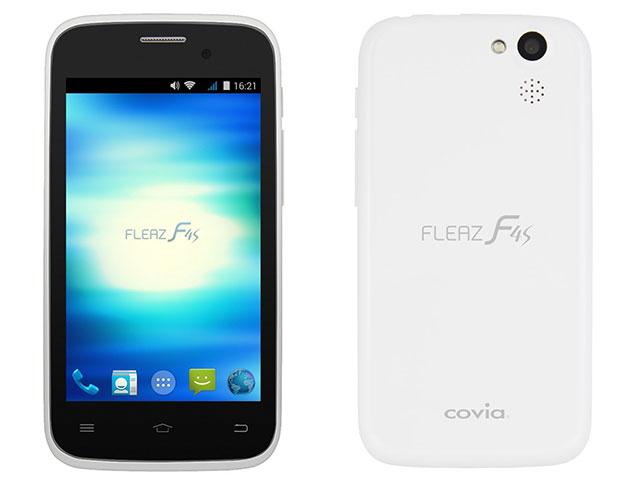 SIMフリー COVIA/コヴィア FLEAZ F4s CP-F40S ホワイト