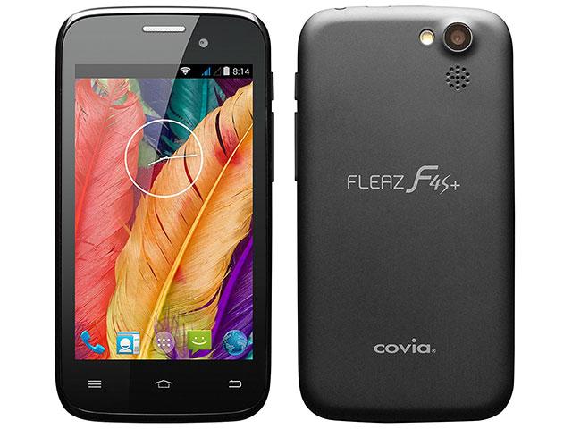 SIMフリー COVIA/コヴィア FLEAZ F4s+ CP-F40S ブラック