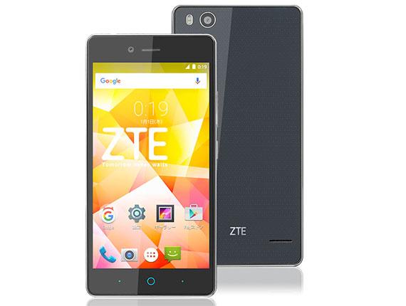 SIMフリー-ZTE/ゼットティーイー-Blade E01 ブラック